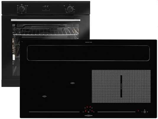 Produktabbildung Oranier Clever-Set 21 - 9905 21 Backofen EBS 9936 + Kochfeldabzug KXI 1092 50 Abluft