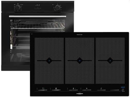 Produktabbildung Oranier Clever-Set 41 - 9905 41 Backofen EBS 9936 + Induktionskochfeld FLI 2088 bc