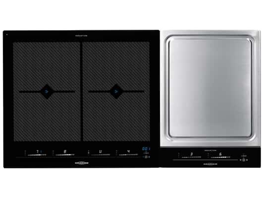 Produktabbildung Oranier Set FLI 2068 bc - 2068 12 Domino Induktionskochfeld + TY 2738 SL+ - 2738 10 Domino Kochfeld Teppan Yaki