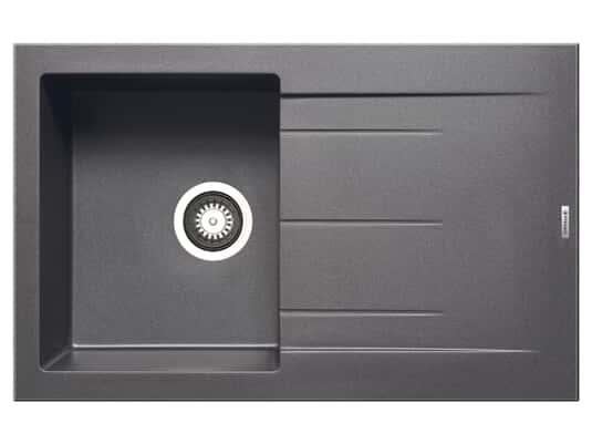 Pyramis Alazia (79x50) 1B 1D Iron Grey Granitspüle