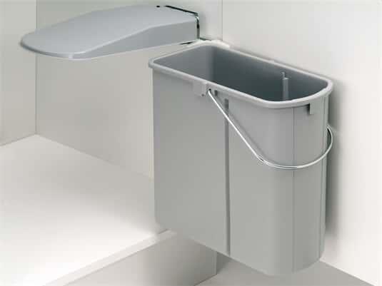 Produktabbildung Wesco flach Einbau Abfallsammler