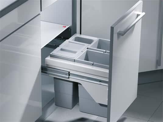 Produktabbildung Hailo Cargo-Basic 3609-50 Einbau Abfallsammler