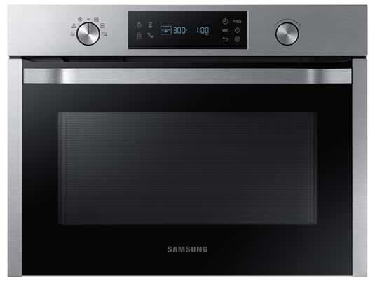 Produktabbildung Samsung NQ50K3130BS/EG Einbau-Mikrowelle mit Dampfgarfunktionen Edelstahl