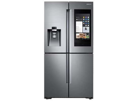 Produktabbildung Samsung Family Hub RF56N9740SR/EF French Door Kühl-Gefrier-Kombination Edelstahl