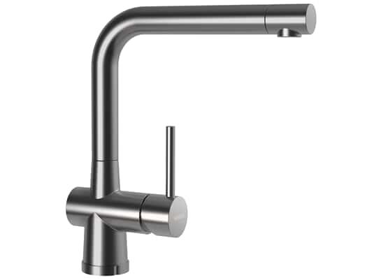 Produktabbildung Schock Laios W Edelstahl massiv - 517005EDM Hochdruckarmatur