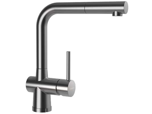 Produktabbildung Schock Laios W Edelstahl massiv - 517125EDM Hochdruckarmatur