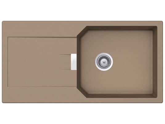 Produktabbidung Schock Manhattan D-100L A Cascada - MAND100LACSC Granitspüle