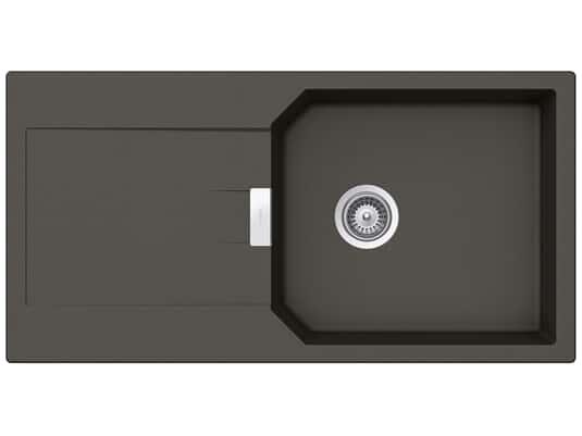 Produktabbidung Schock Manhattan D-100L A Asphalt - MAND100LAGAS Granitspüle