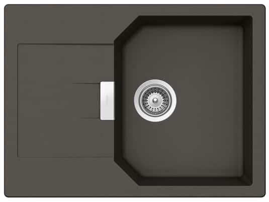 Produktabbidung Schock Manhattan D-100S A Asphalt - MAND100SAGAS Granitspüle