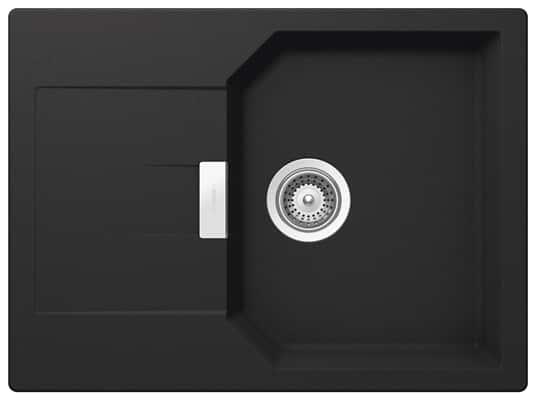 Produktabbidung Schock Manhattan D-100S A Onyx - MAND100SAGON Granitspüle