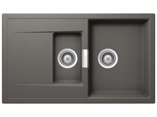 Produktabbildung Schock Mono D-150 A Silverstone - MOND150ASIL Granitspüle