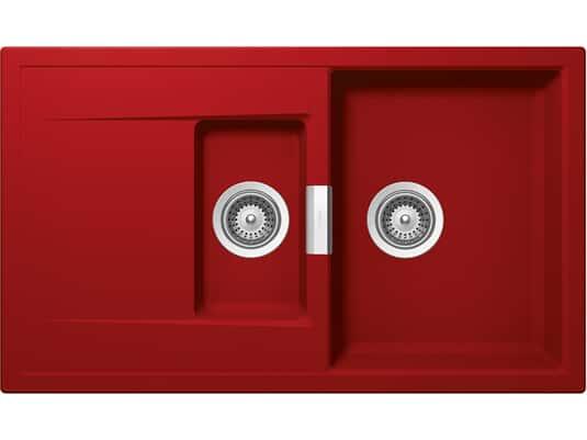Produktabbildung Schock Mono D-150 A Rouge - MOND150AROU Granitspüle