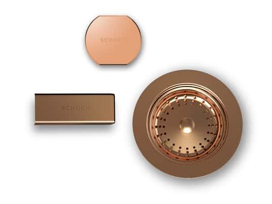 Produktabbildung Schock 629385COP - Sichtteile Copper