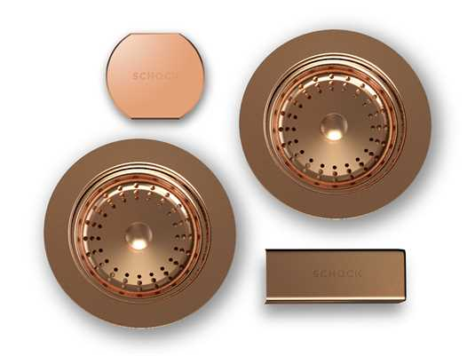 Produktabbildung Schock 629305COP - Sichtteile in Copper