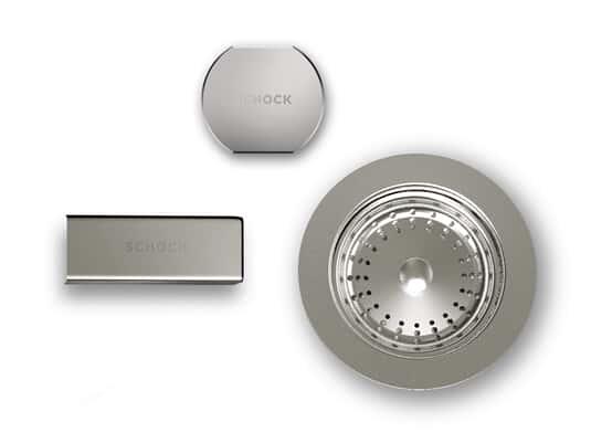 Produktabbildung Schock Schock 629385EDM - Sichtteile Edelstahl massiv