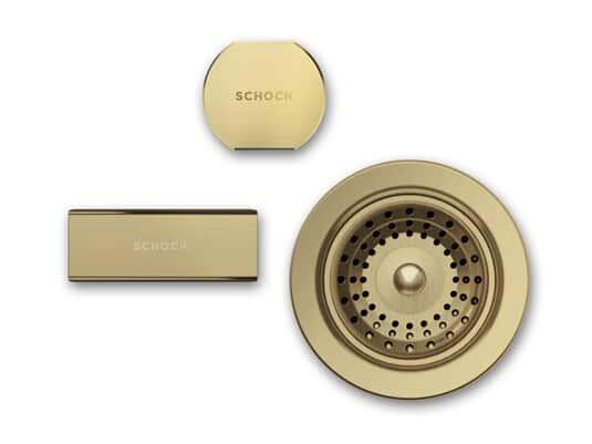 Produktabbildung Schock 629675WGO - Sichtteile White Gold