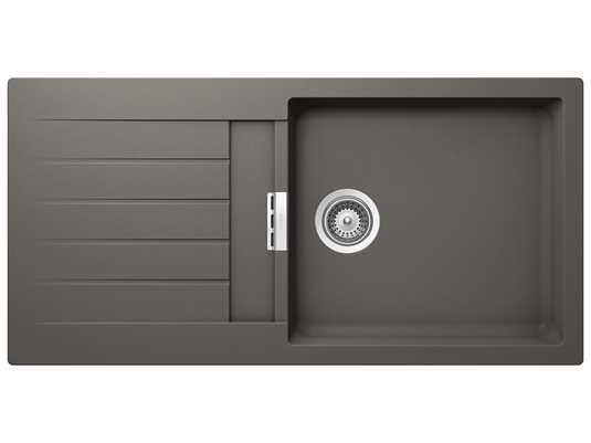 Produktabbildung Schock Signus D-100L A Silverstone - SIGD100LASIL Granitspüle