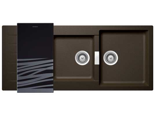 Produktabbildung Schock Signus D-200 A Bronze - SIGD200ABRO Granitspüle