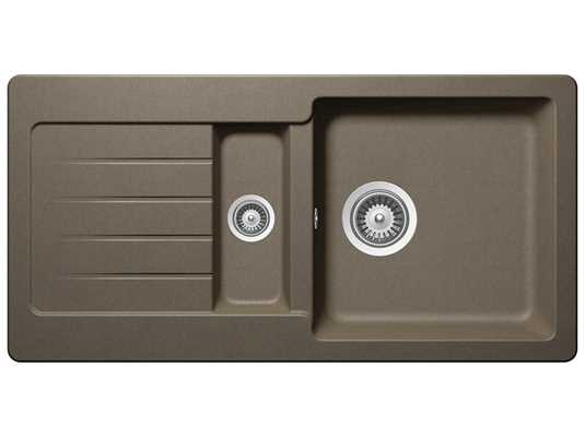 Schock Typos D-150S A Alpaca - TYPD150SAALP Granitspüle