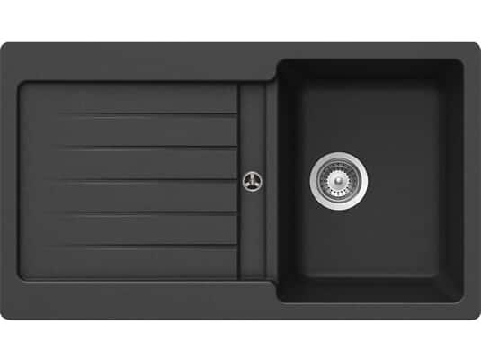 Produktabbildung Schock Typos D-100 A Onyx - TYPD100AGON Granitspüle