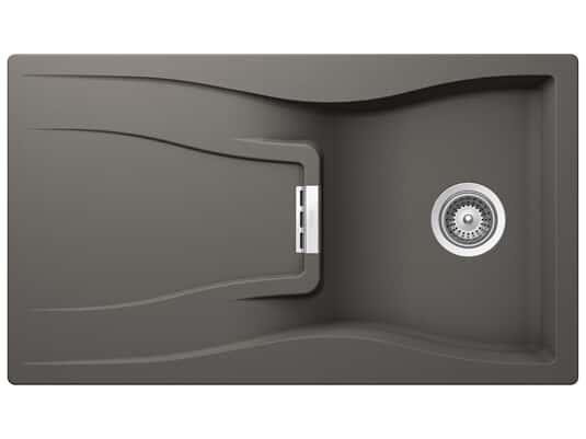 Produktabbildung Schock Waterfall D-100 A Silverstone - WATD100ASIL Granitspüle