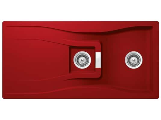 Produktabbildung Schock Waterfall D-150 A Rouge - WATD150AROU Granitspüle