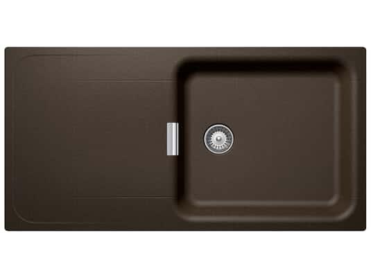 Produktabbildung Schock Wembley D-100L A Bronze - WEMD100LABRO Granitspüle