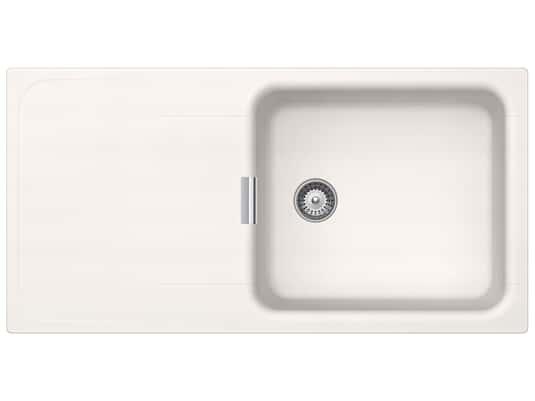 Produktabbildung Schock Wembley D-100L A Polaris - WEMD100LAPOL Granitspüle
