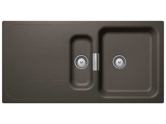 Produktabbildung Schock Wembley D-150 A Carbonium - WEMD150ACAR Granitspüle