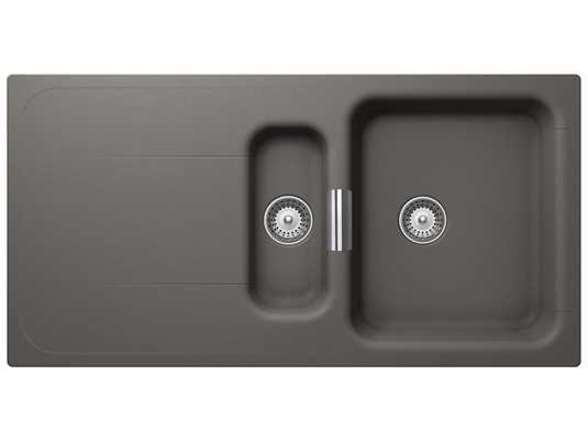 Produktabbildung Schock Wembley D-150 A Silverstone - WEMD150ASIL Granitspüle