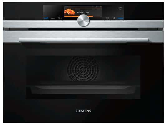 Siemens studioLine CS858GRS6 Kompakt-Dampfbackofen Edelstahl