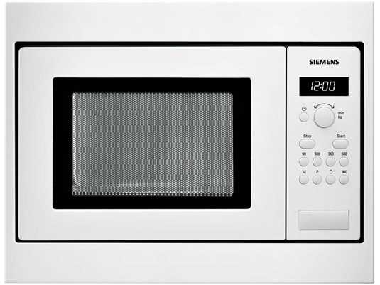 Siemens HF15M252 Einbau-Mikrowelle Weiß