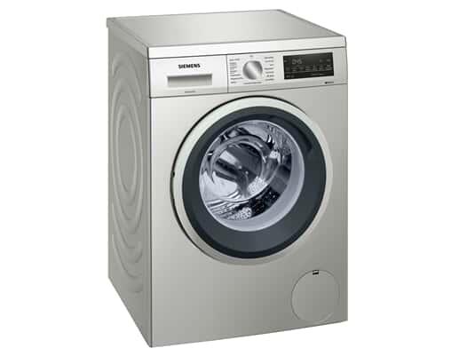 Siemens WU14UTS0 Waschmaschine Silber-Inox