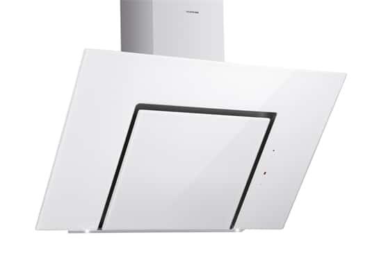 Produktabbildung Silverline Andromeda Eco ANW 853.3 W Kopffreihaube Edelstahl/Weißglas