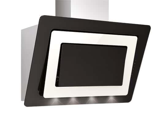Produktabbildung Silverline Alya Premium AYW 994.1 M Kopffreihaube Edelstahl/Schwarzglas/Magnolieglas