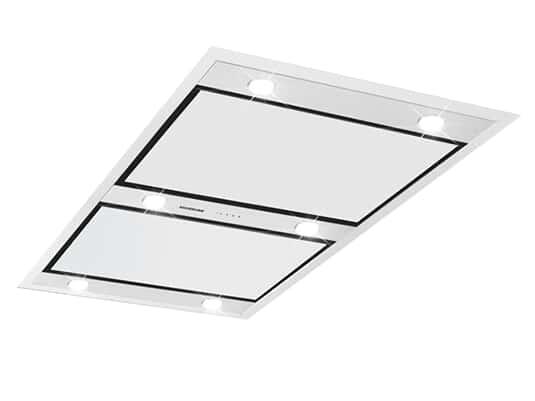 Produktabbildung Silverline Vega Intern Premium VGID 123 E Deckenhaube Edelstahl