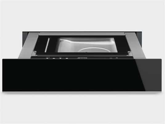 Produktabbildung Smeg CPV615NX Vakuumierschublade Schwarzglas/Edelstahl