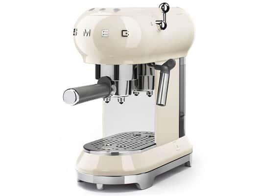 Smeg ECF01CREU Espresso-Kaffeemaschine Creme