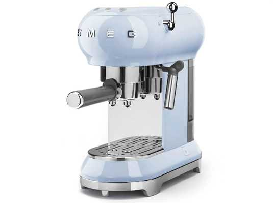Smeg ECF01PBEU Espresso-Kaffeemaschine Pastellblau