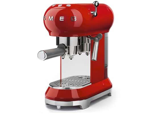 Smeg ECF01RDEU Espresso-Kaffeemaschine Rot