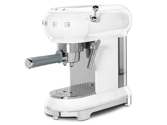 Smeg ECF01WHEU Espresso-Kaffeemaschine Weiß