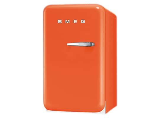 Bild von Smeg FAB5LO Stand Kühlschrank Orange
