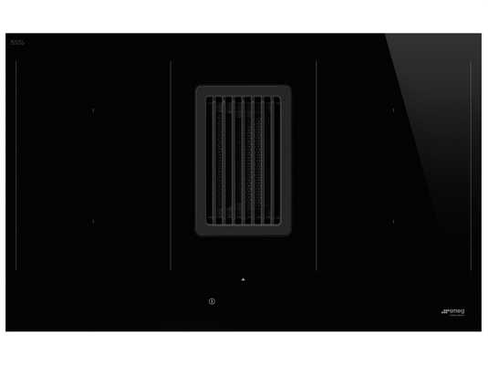 Produktabbildung: Smeg HOBD482d Induktionskochfeld-Dunstabzug-Kombination