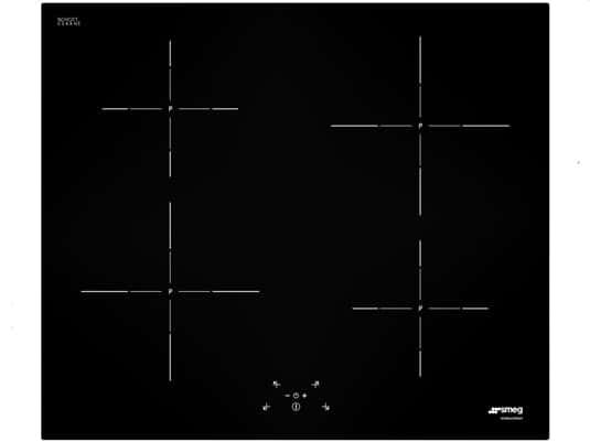 Produktabbildung von Smeg SI5643D Induktion Glaskeramik Kochfeld autark