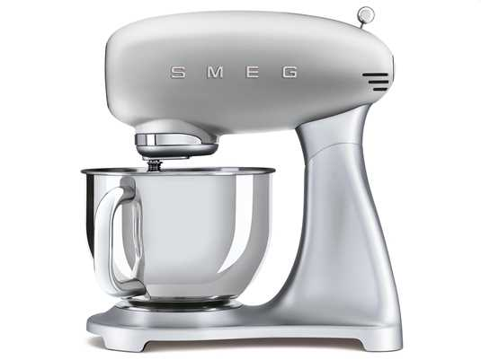 Produktabbildung Smeg SMF02SVEU Küchenmaschine Polarsilber Metallic