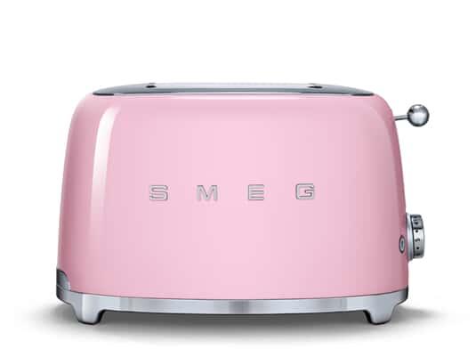 Smeg TSF01PKEU 2-Scheiben-Toaster Cadillac Pink