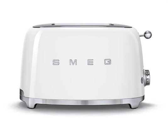 Smeg TSF01WHEU 2-Scheiben-Toaster Weiß