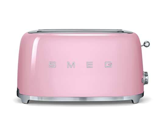 Produktabbildung von Smeg TSF02PKEU 4-Scheiben-Toaster Cadillac Pink