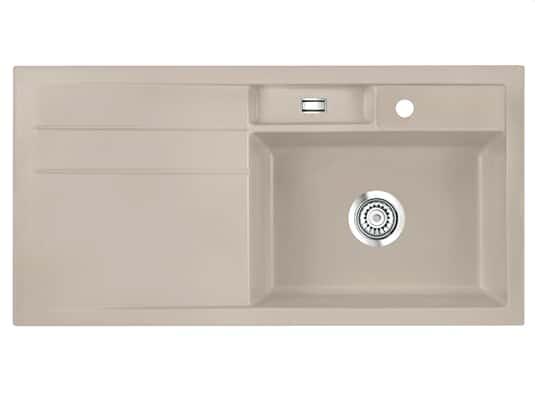 Produktabbildung Systemceram Bela 100 Fango Keramikspüle Handbetätigung