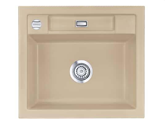 Produktabbildung Systemceram Bela 57 Sand Keramik-Spüle Excenterbetätigung